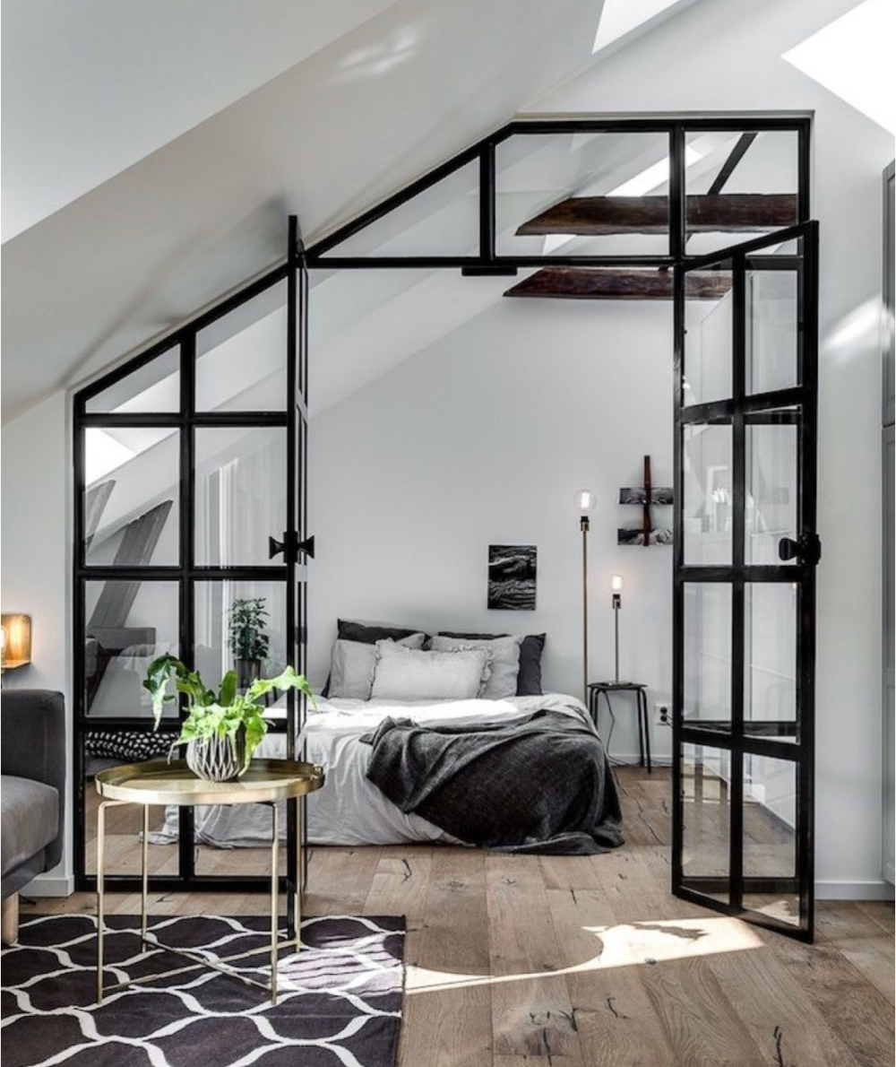 factory design bedroom
